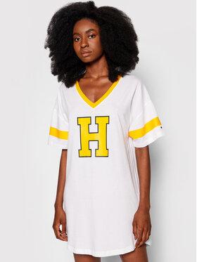 Tommy Hilfiger Tommy Hilfiger Nachthemd Varsity UW0UW02894 Weiß
