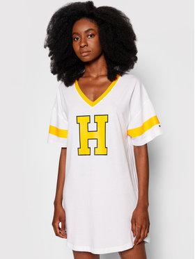 Tommy Hilfiger Tommy Hilfiger Noční košile Varsity UW0UW02894 Bílá