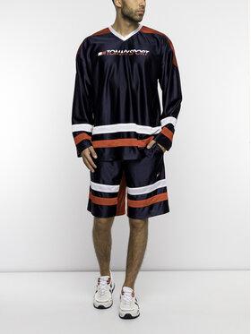 Tommy Sport Tommy Sport Тениска с дълъг ръкав S20S200110 Тъмносин Regular Fit