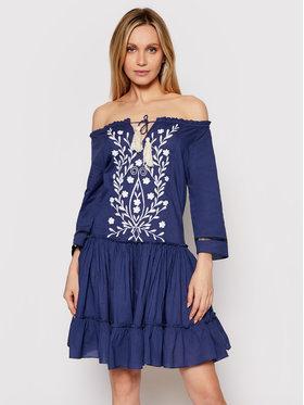 Iconique Iconique Robe d'été Celine IC21 062 Bleu marine Relaxed Fit