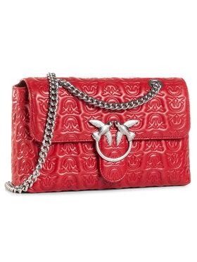 Pinko Pinko Handtasche Love Classic Puff Monogram Cl AI 20-21 PLTT 1P21X0 Y6NX Rot