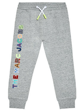 Little Marc Jacobs Little Marc Jacobs Pantaloni trening W24230 M Gri Regular Fit
