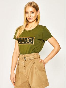 Liu Jo Liu Jo T-Shirt TA0185 J9944 Πράσινο Regular Fit