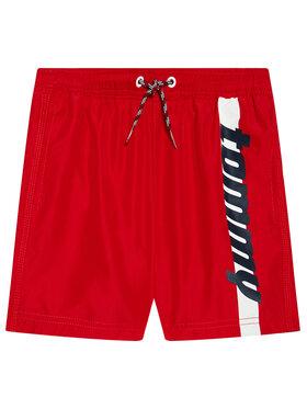 Tommy Hilfiger Tommy Hilfiger Sportske kratke hlače UB0UB00357 Crvena Regular Fit