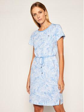 TOMMY HILFIGER TOMMY HILFIGER Každodenní šaty Belle WW0WW28590 Modrá Regular Fit