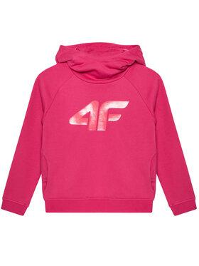 4F 4F Bluza HJL21-JBLD002 Różowy Regular Fit