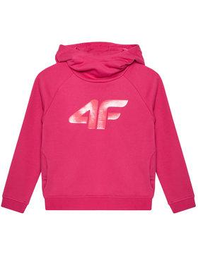 4F 4F Sweatshirt HJL21-JBLD002 Rose Regular Fit