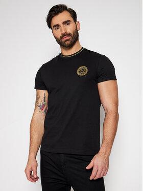Versace Jeans Couture Versace Jeans Couture T-shirt B3GWA7TF Crna Slim Fit