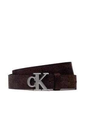Calvin Klein Jeans Calvin Klein Jeans Pasek Męski Mono Hardware Shadow Belt 35mm K50K507178 Brązowy