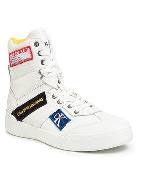 Calvin Klein Jeans Calvin Klein Jeans Sneakersy Norton Nappa Leather S0580 Bílá