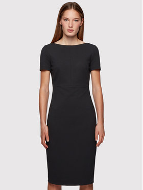 Boss Boss Hétköznapi ruha Dalula 50452491 Fekete Slim Fit