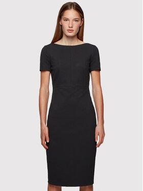 Boss Boss Kleid für den Alltag Dalula 50452491 Schwarz Slim Fit