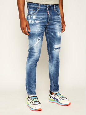 Dsquared2 Dsquared2 Jean Slim fit Skater S71LB0720 Bleu Slim Fit