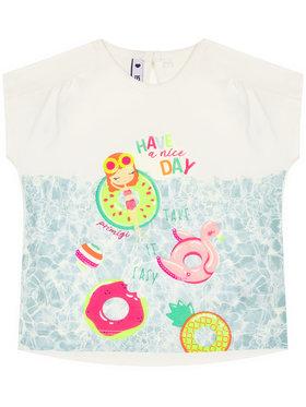 Primigi Primigi T-Shirt Selfie Time 45221621 Λευκό Regular Fit
