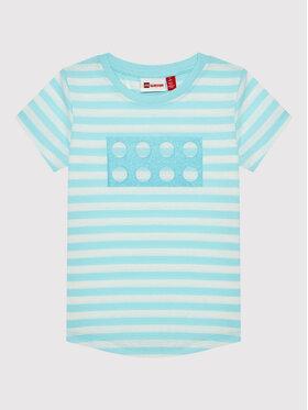 LEGO Wear LEGO Wear T-Shirt 11010106 Modrá Regular Fit