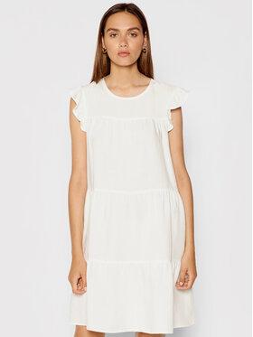 Rinascimento Rinascimento Sukienka letnia CFC0103416003 Biały Regular Fit