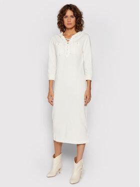 Polo Ralph Lauren Polo Ralph Lauren Robe en tricot Lsl 211843243001 Blanc Regular Fit
