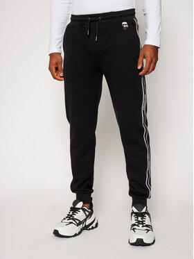 KARL LAGERFELD KARL LAGERFELD Spodnie dresowe Sweat 705024 502910 Czarny Regular Fit