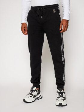 KARL LAGERFELD KARL LAGERFELD Teplákové kalhoty Sweat 705024 502910 Černá Regular Fit