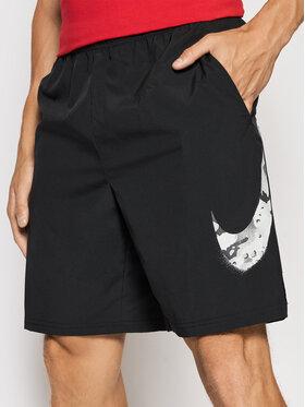 Nike Nike Спортни шорти Flex Short Camo CZ2429 Черен Standard Fit