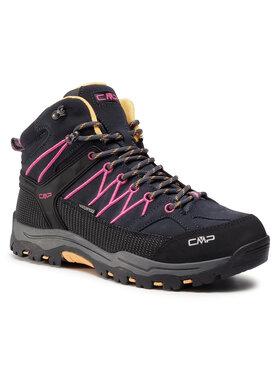 CMP CMP Trekkingi Kids Rigel Mid Trekking Shoes Wp 3Q12944J Czarny