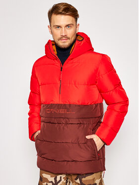 O'Neill O'Neill Vatovaná bunda Original Anorak 0P1000 Červená Regular Fit