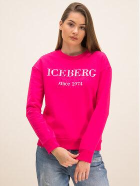 Iceberg Iceberg Суитшърт 20EI2P0E01263304688 Розов Regular Fit