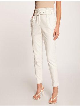 Morgan Morgan Spodnie materiałowe 212-PWILLY Biały Regular Fit