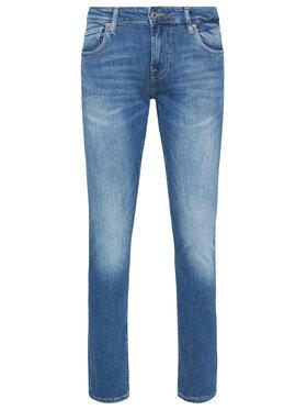 Guess Guess Jeansy Super Skinny Fit Chris M1RA27 D4B71 Blu scuro Super Skinny Fit