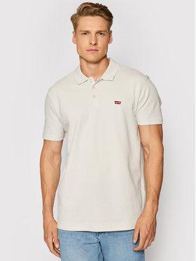 Levi's® Levi's® Тениска с яка и копчета Housemark 35959-0014 Сив Standard Fit