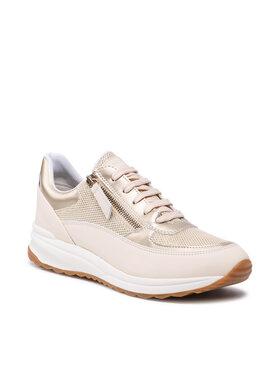 Geox Geox Sneakersy D Airell A D152SA 085AS C0257 Béžová