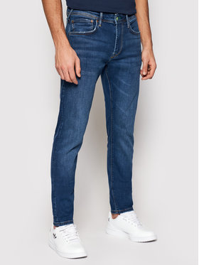 Pepe Jeans Pepe Jeans Džínsy Stanley PM201705 Tmavomodrá Slim Fit
