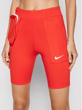 Nike Nike Cyklistické kraťasy Sportswear Tech Pack CU5785 Červená Slim Fit
