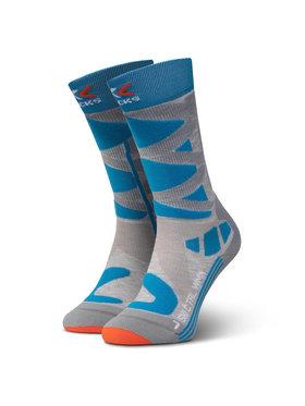 X-Socks X-Socks Чорапи дълги дамски Ski Control 4.0 XSSSKCW19W Сив