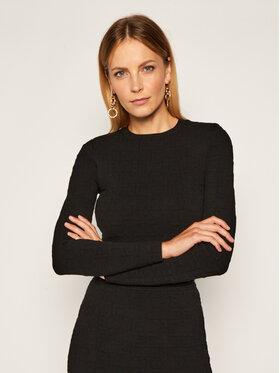 Elisabetta Franchi Elisabetta Franchi Komplet sweter i spódnica ołówkowa KC-14Q-06E2-V699 Juoda Slim Fit