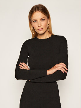 Elisabetta Franchi Elisabetta Franchi Komplet sweter i spódnica ołówkowa KC-14Q-06E2-V699 Negru Slim Fit