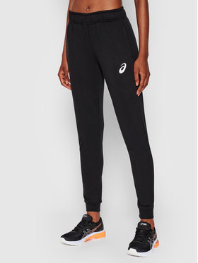 Asics Asics Spodnie dresowe Big Logo 2032A982 Czarny Regular Fit