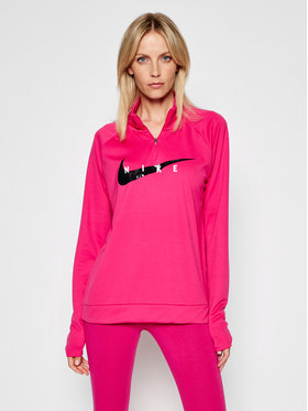 Nike Nike Bluza techniczna Swoosch Run CZ9231 Różowy Standard Fit