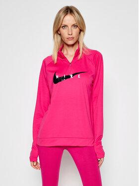 Nike Nike Funkční mikina Swoosch Run CZ9231 Růžová Standard Fit