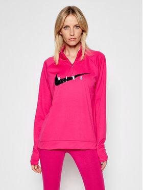 Nike Nike Суитшърт от техническо трико Swoosch Run CZ9231 Розов Standard Fit