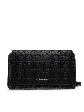 Calvin Klein Calvin Klein Сумка Mono Mix Flap Wallet Mini Bag K60K608457 Чорний