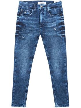 Calvin Klein Jeans Calvin Klein Jeans Džinsai IB0IB00736 Tamsiai mėlyna Tapered Fit