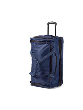 Travelite Travelite Nagy szövetborítású bőrönd Basics 96276-20 Sötétkék