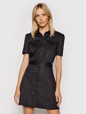 Guess Guess Sukienka koszulowa W1GK0O WDXM0 Czarny Regular Fit