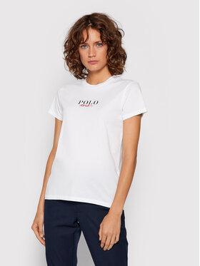 Polo Ralph Lauren Polo Ralph Lauren T-Shirt 211847078001 Weiß Regular Fit