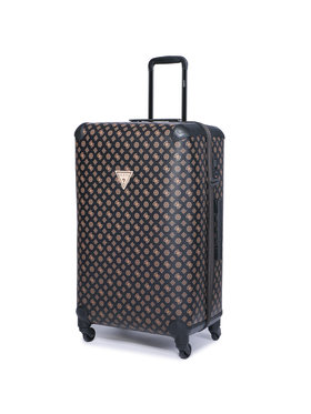 Guess Guess Nagy kemény borítású bőrönd Group Wilder Travel TWP745 29480 Barna