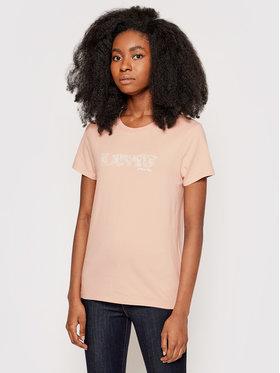 Levi's® Levi's® Marškinėliai The Perfect 17369-1624 Rožinė Regular Fit