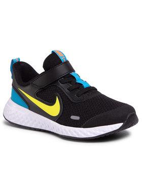 Nike Nike Boty Revolution 5 (PSV) BQ5672 076 Černá