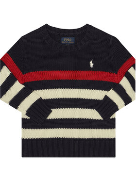 Polo Ralph Lauren Polo Ralph Lauren Megztinis Summer II 323787115001 Tamsiai mėlyna Regular Fit