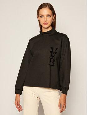 Victoria Victoria Beckham Victoria Victoria Beckham Sweatshirt Roll Neck 2320JTP001932A Schwarz Regular Fit